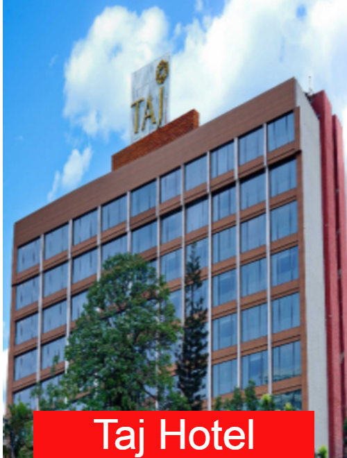 TAJ-Hotel in Bangalore